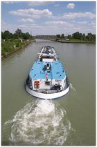 Schiff am Preussen Hafen