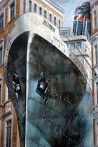 Schiff auf abwegen