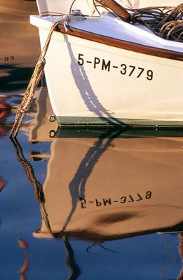 Schiff im Hafen von Palma