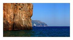 Schiff in Amalfi