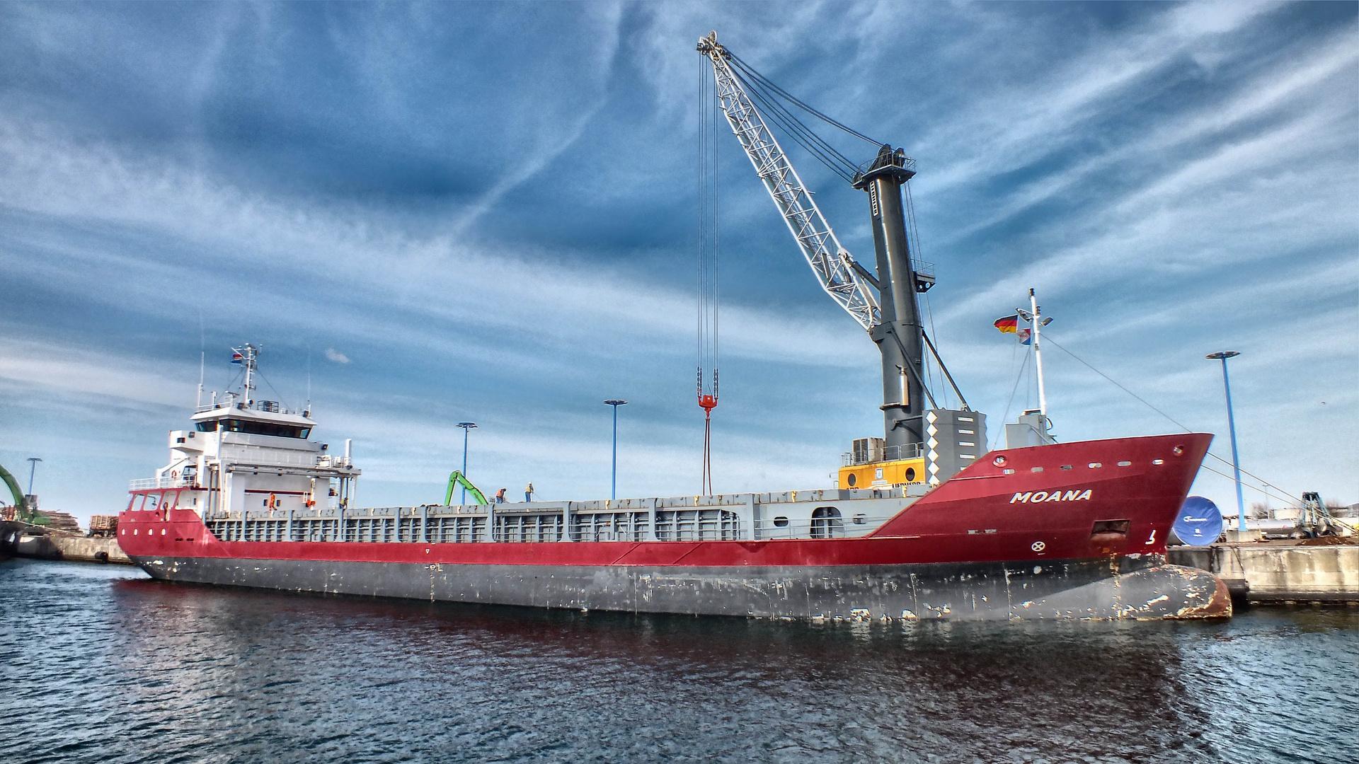 Schiff Wismar Hafen