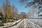 Schiffdorf im Schnee