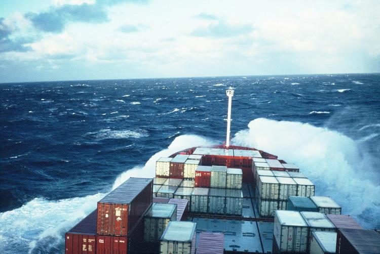 Schiffe im Wind