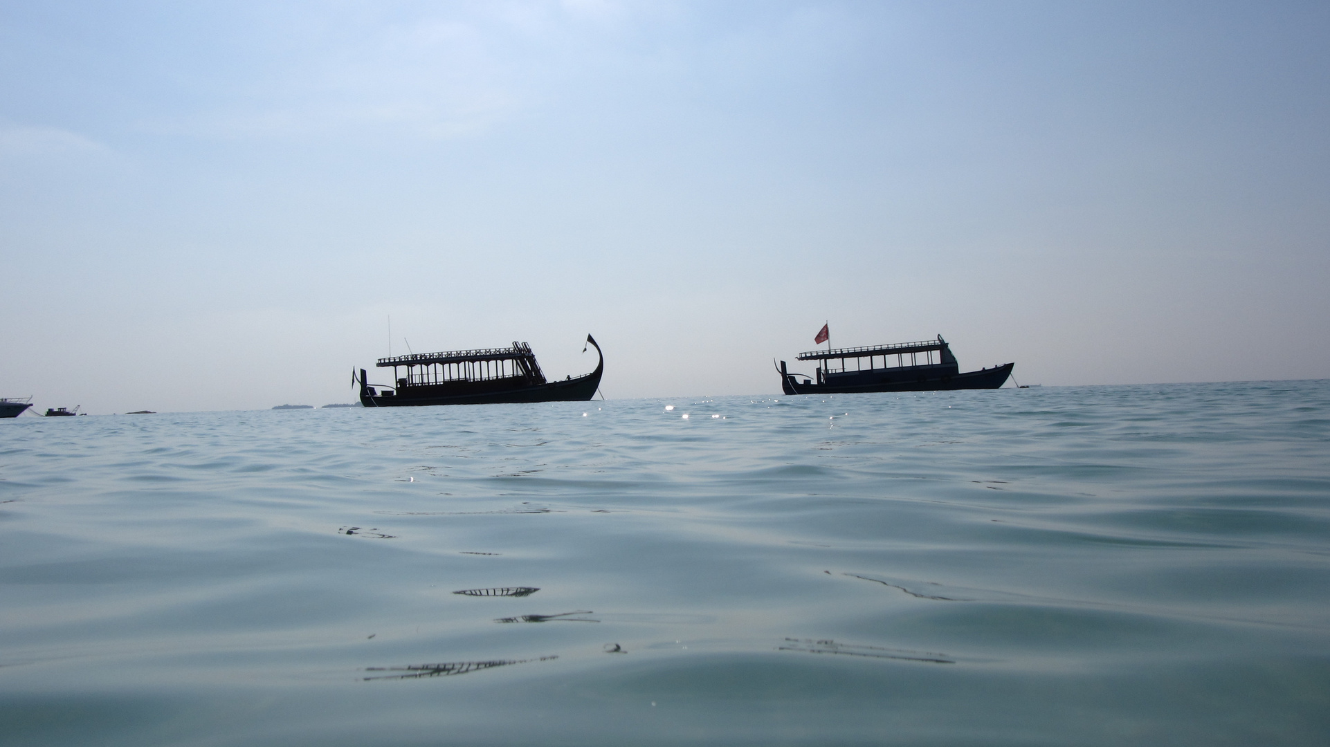 Schiffe und Ozean