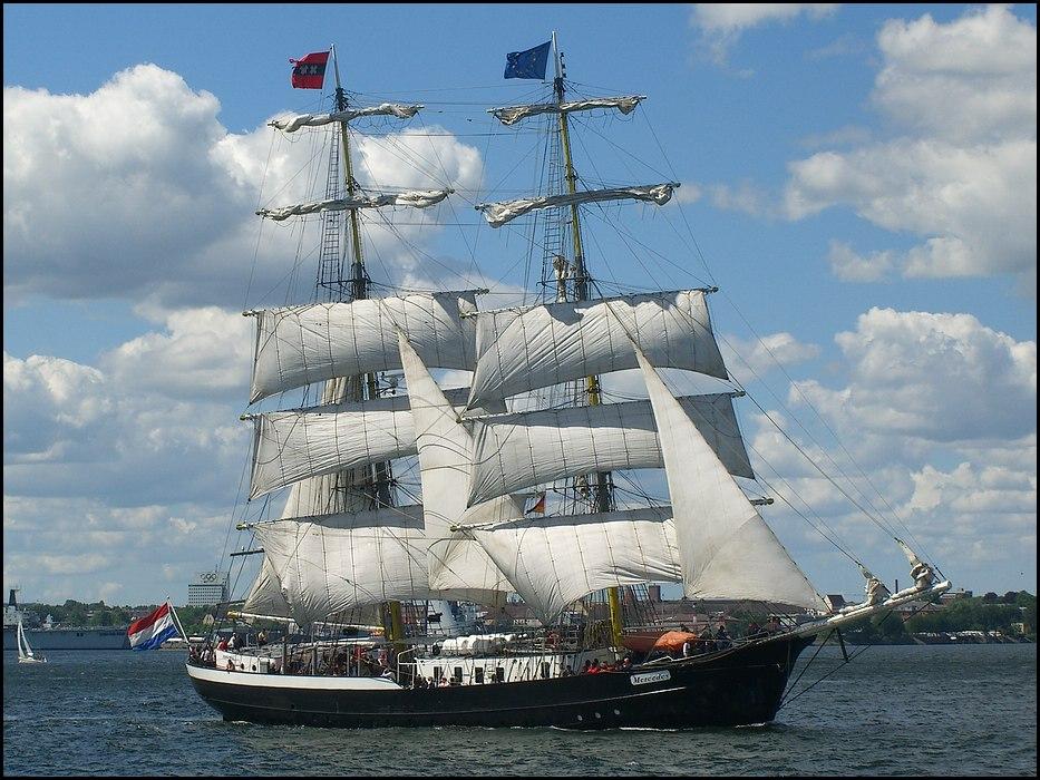 Schiffe zur Kieler Woche 2