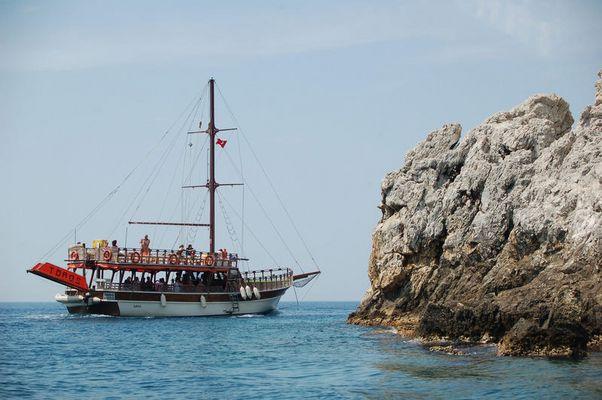 Schifffahrt Alanya