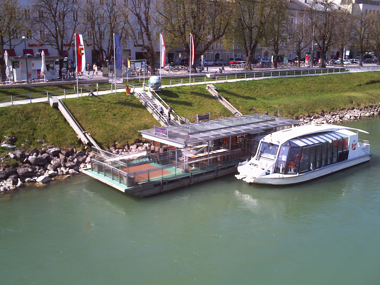 Schifffahrt in Salzburg, Salzach