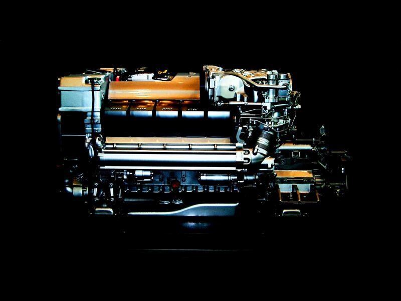 Schiffmotor optisch frisiert