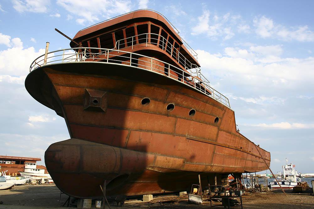 Schiffsbau in der Türkei