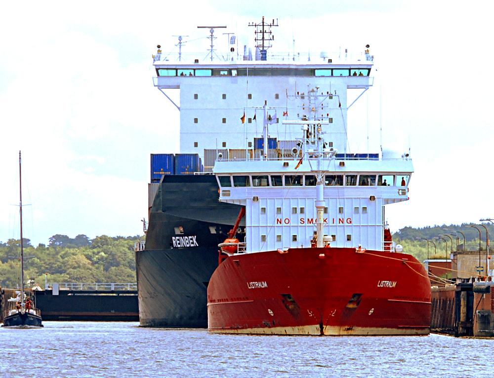 Schiffsbegegnung