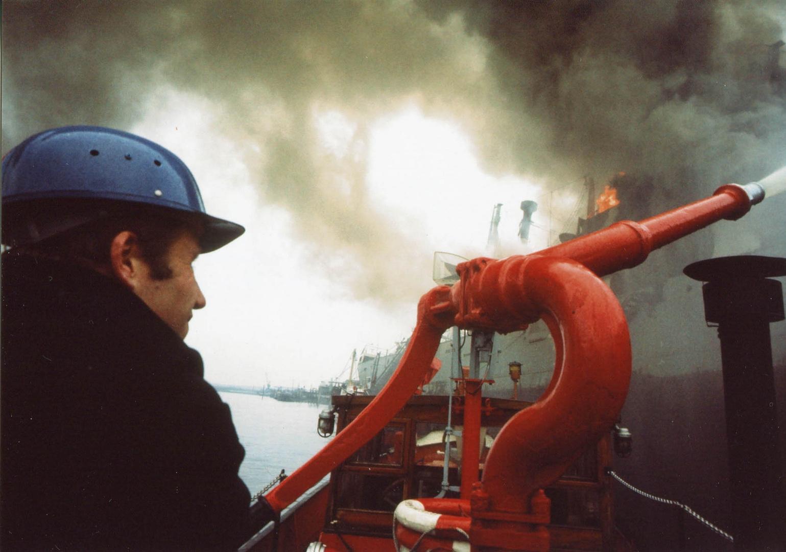 Schiffsbrandbekämpfung