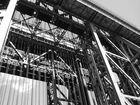 Schiffshebewerk 03 in schwarz/weiß