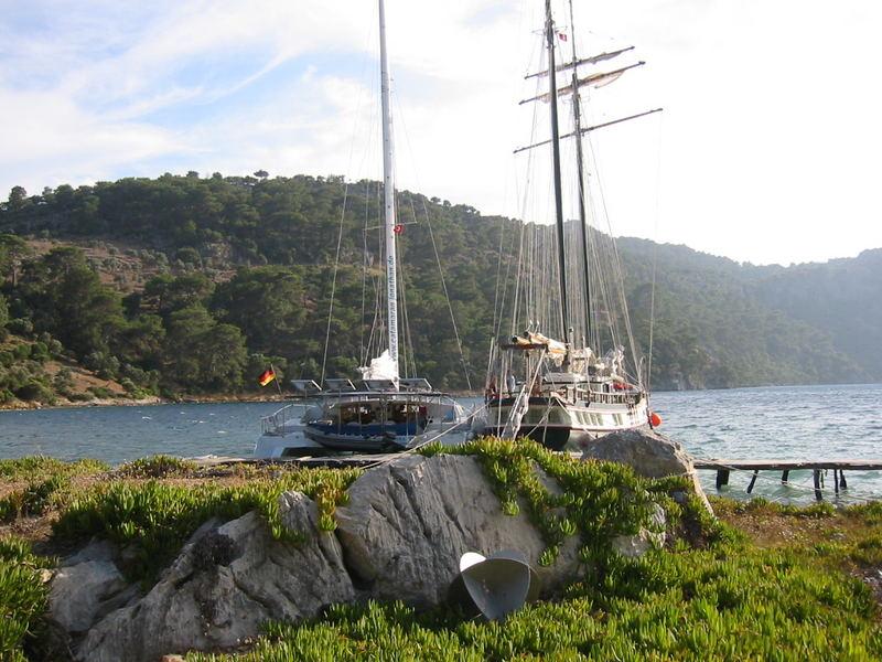 Schiffsreise im Mittelmeer