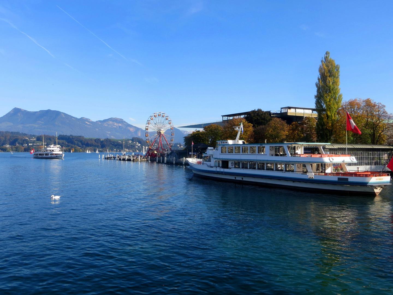 Schiffsstation Luzern ...