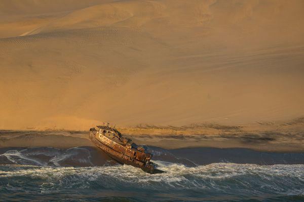 Schiffswrack Westküste Namibias