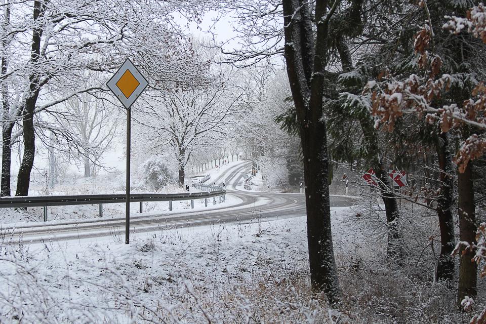 Schikane im Winter