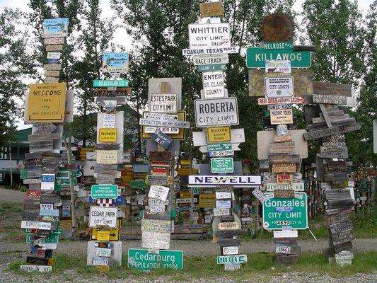 Schilder aus aller Welt