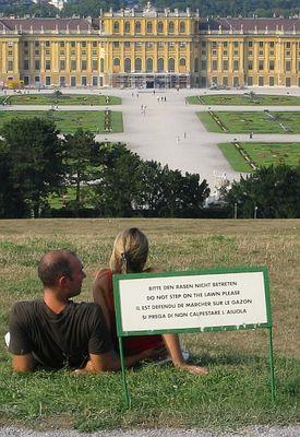Schilder lesen und Schilder verstehen sind schon zwei verschiedene Dinge! =)
