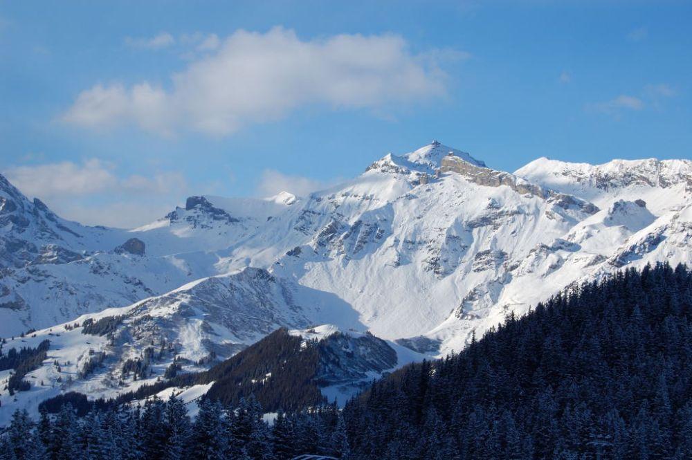 Schilthorn im Winter