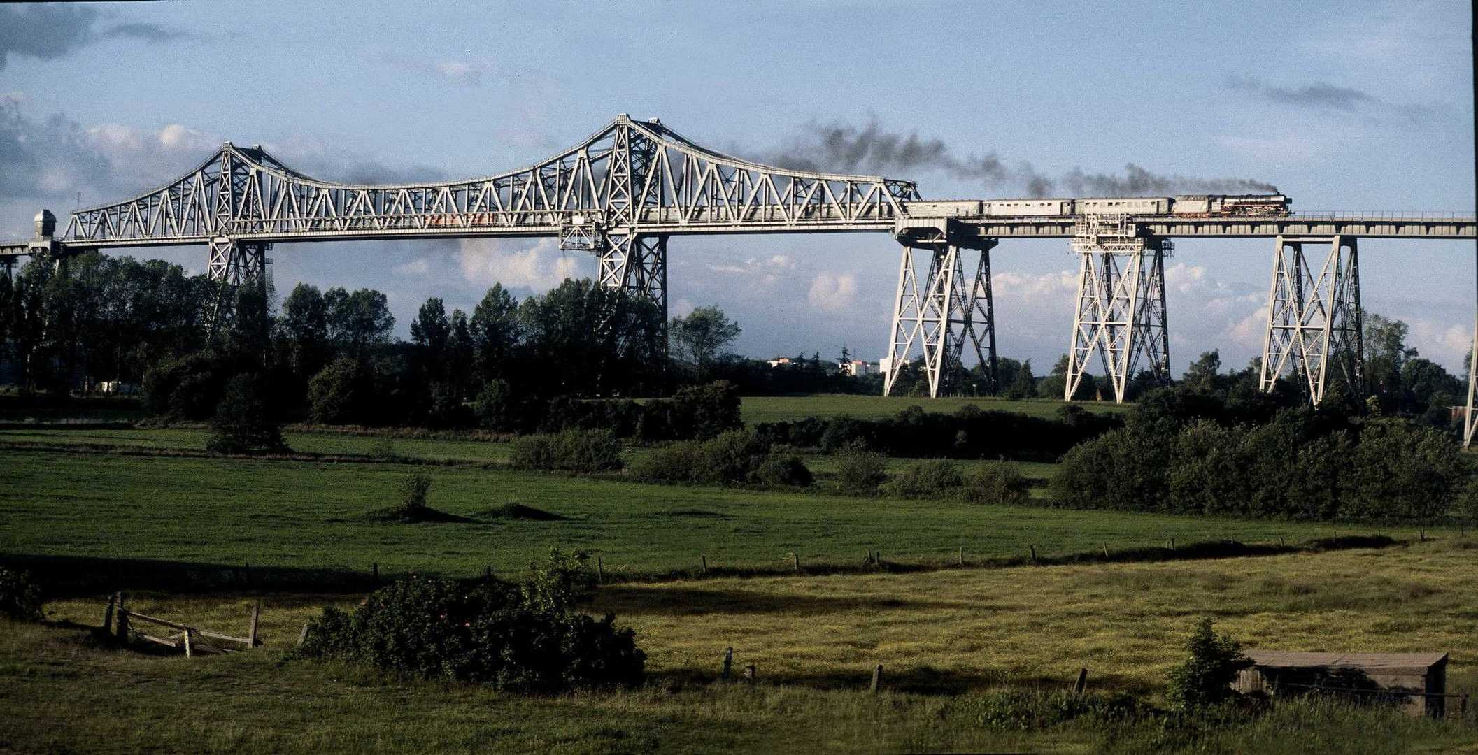 Schimmelreiter Rendsburger Hochbrücke 1988