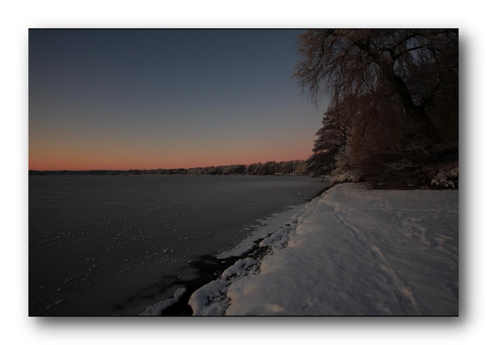 Schimmerndes Winterlicht