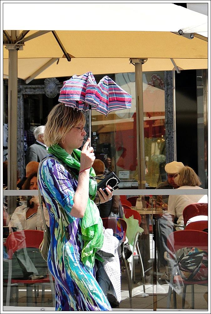 Schirm gegen....?