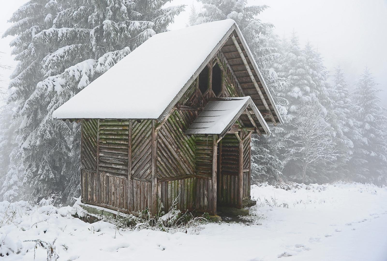 Schirmhütte bei Bad Wildbad, Nordschwarzwald