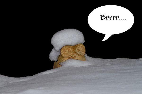 *Sch...kälte*...