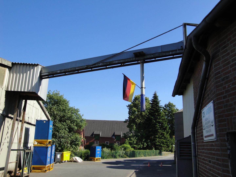 *schlaaaand - auch der Müller zeigt Flagge