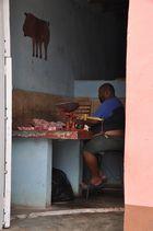 Schlachter auf Kuba