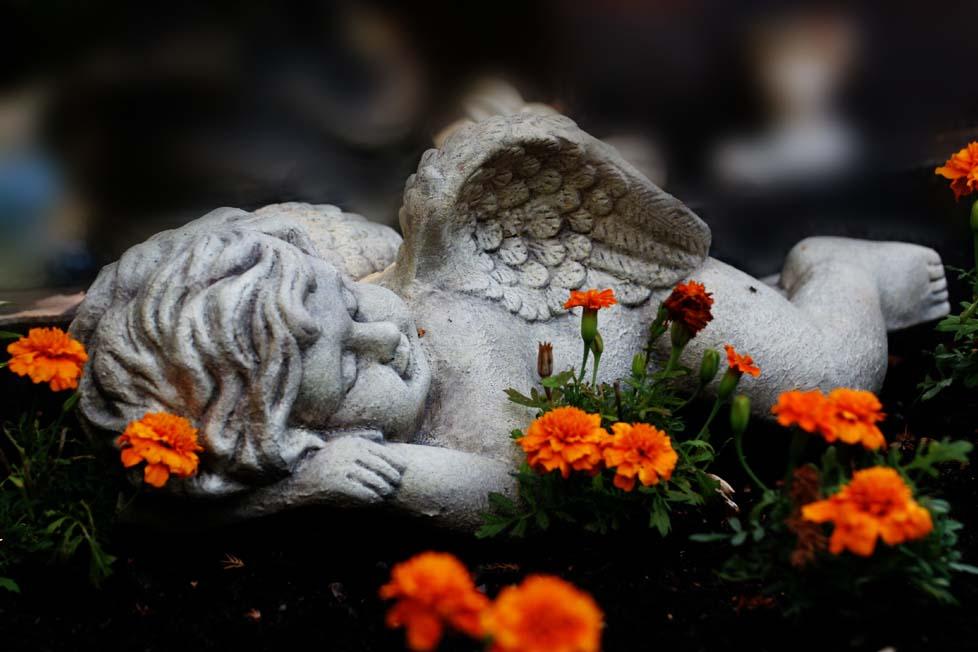 Schlaf gut kleiner Engel