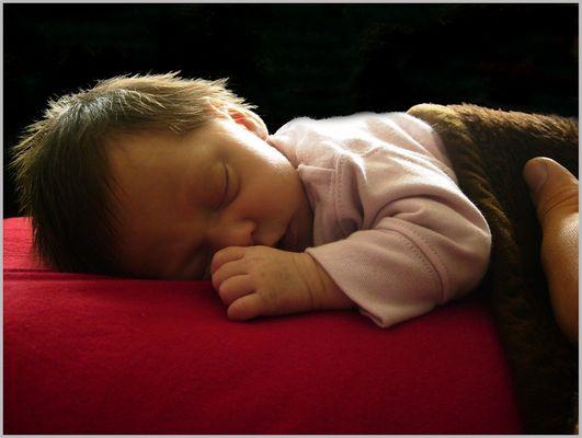 ...schlaf schön, kleine Prinzessin...