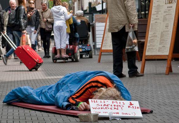 schlafend reich werden in Holland