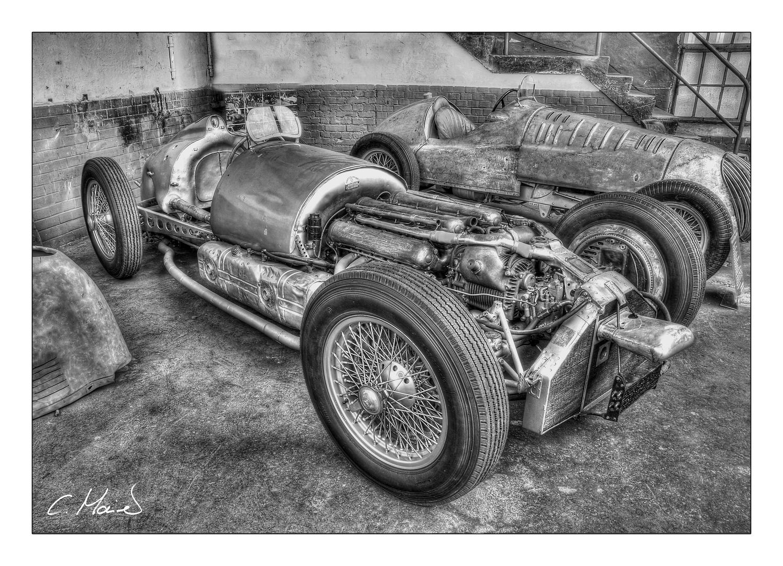 Schlafende Automobilschönheiten - Mercedes W154 Silberpfeil