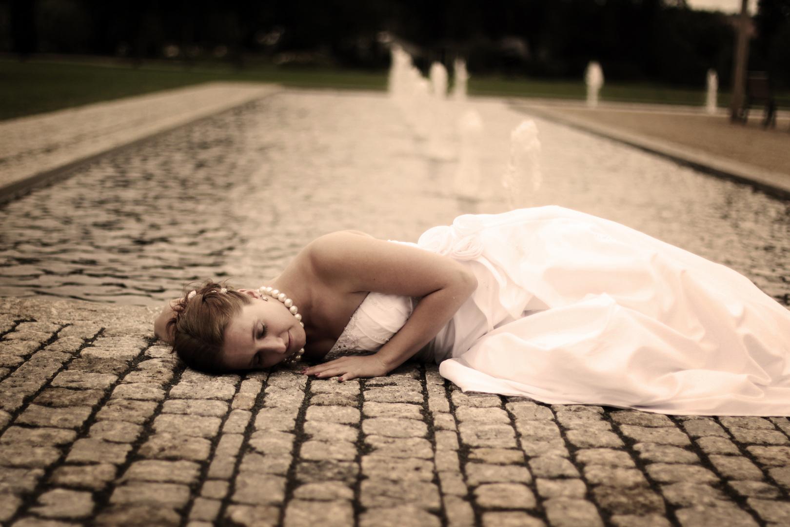Schlafende Braut