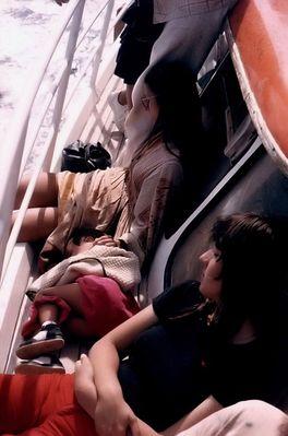 Schlafende Frauen