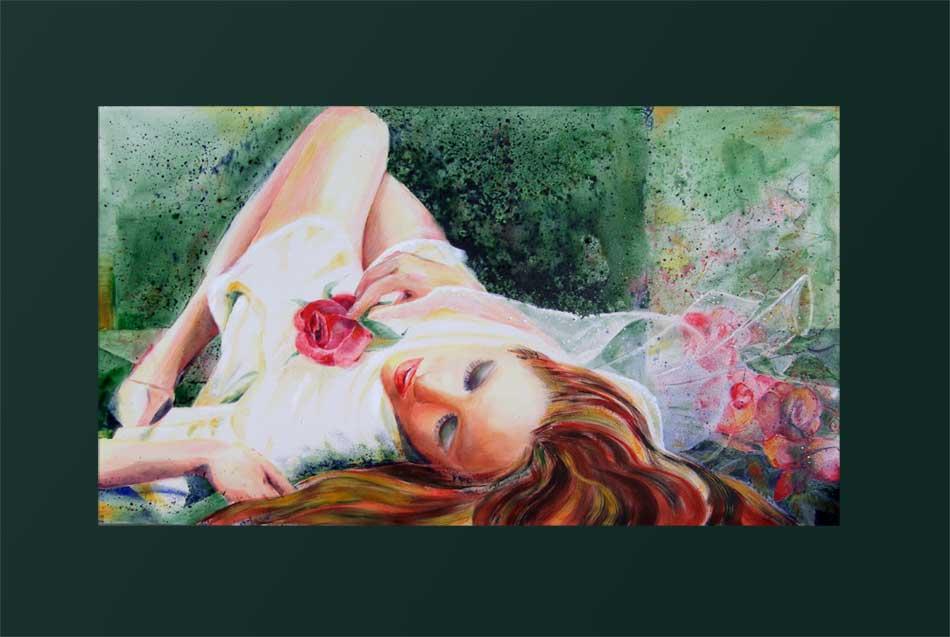 Schlafende Rose