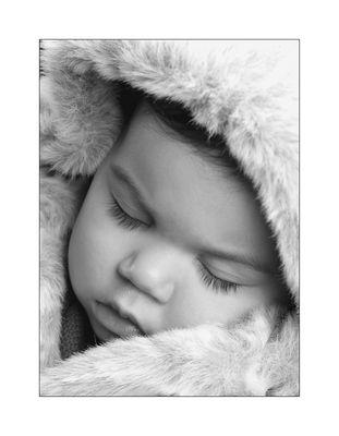 Schlafender Eskimo!
