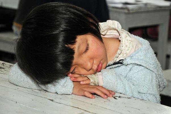 Schlafendes Kind II