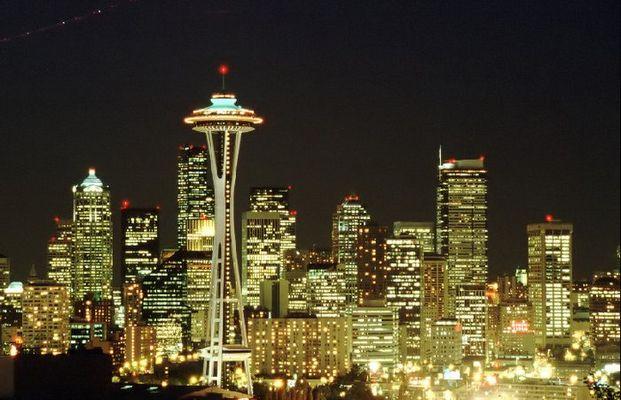 Schlaflos in Seattle // Seattle bei Nacht