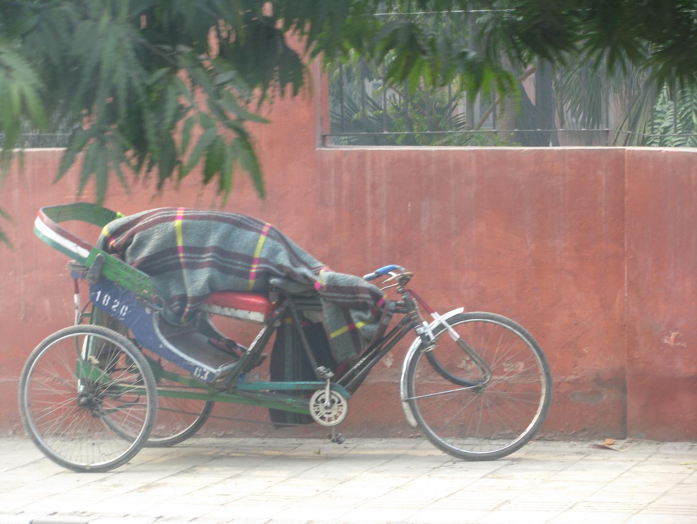 Schlafplatz auf Rädern
