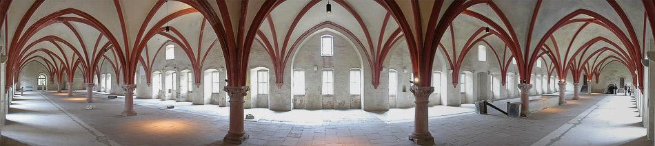 Schlafsaal im Kloster Eberbach
