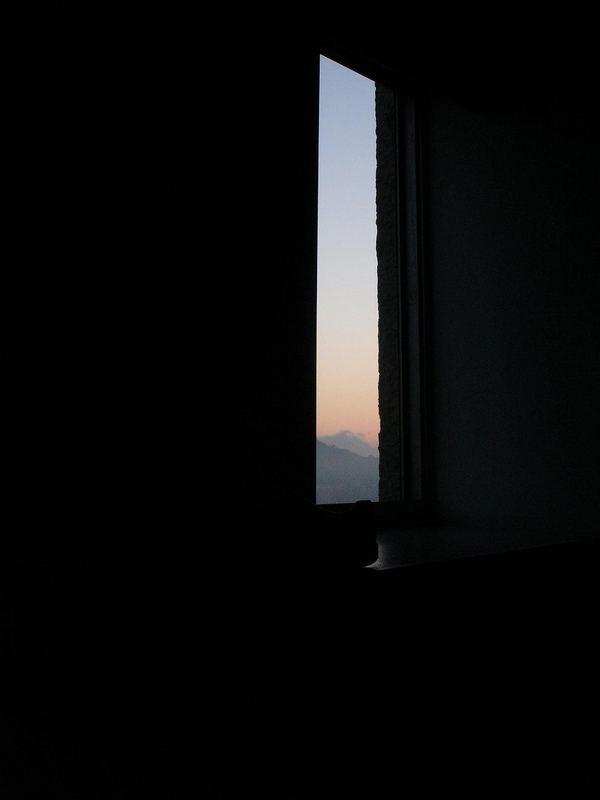 Schlafzimmer(aus)blick