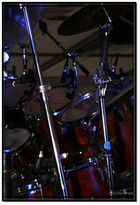 Schlagzeug im Ruhezustand