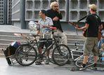 Schlagzeugfahrrad oder Fahrradschlagzeug?