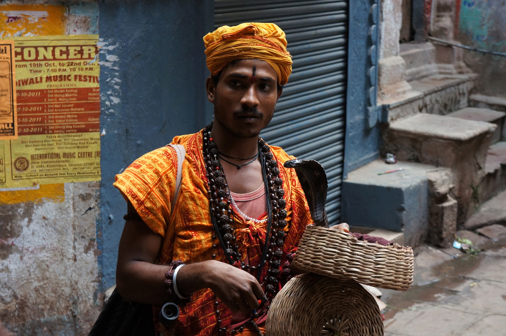 Schlangenbeschwörer Varanasi