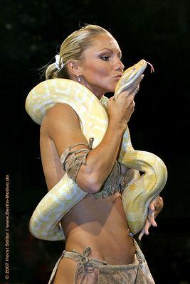 Schlangenkuss ...