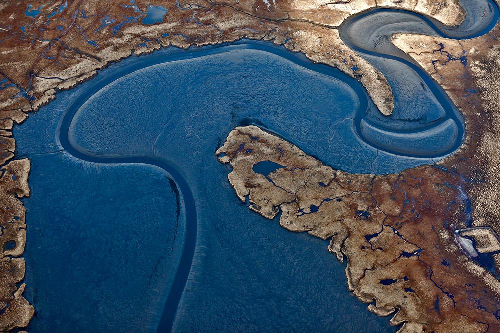 Schlangenlinie - Aerials Iceland #1045