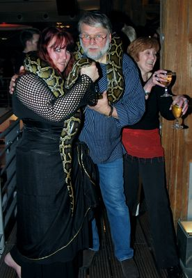Schlangenumarmung
