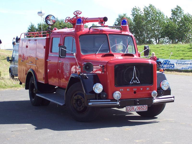 Schlauchwagen aus Cuxhaven